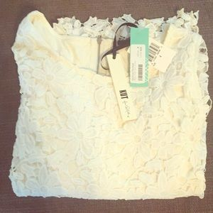 KUT from the Kluth White Lace Dress